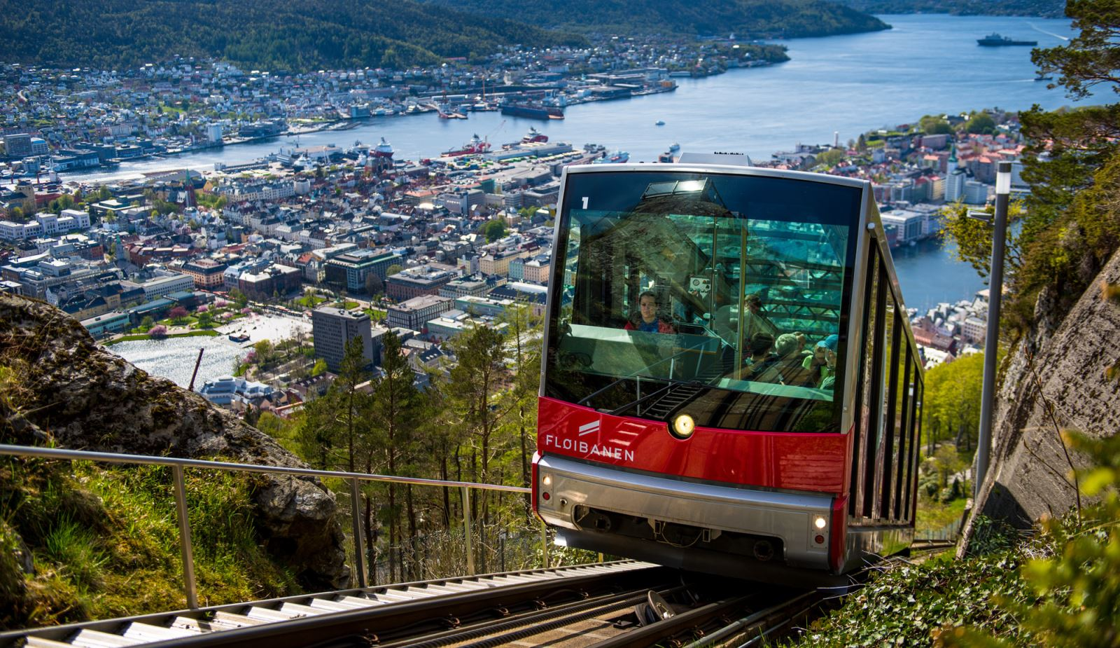 3 days in Bergen - Fløibanen funicular
