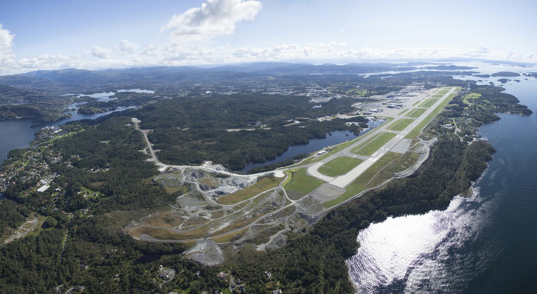 Nordens största flygplatser - Flesland – Bergen flygplats, Norge