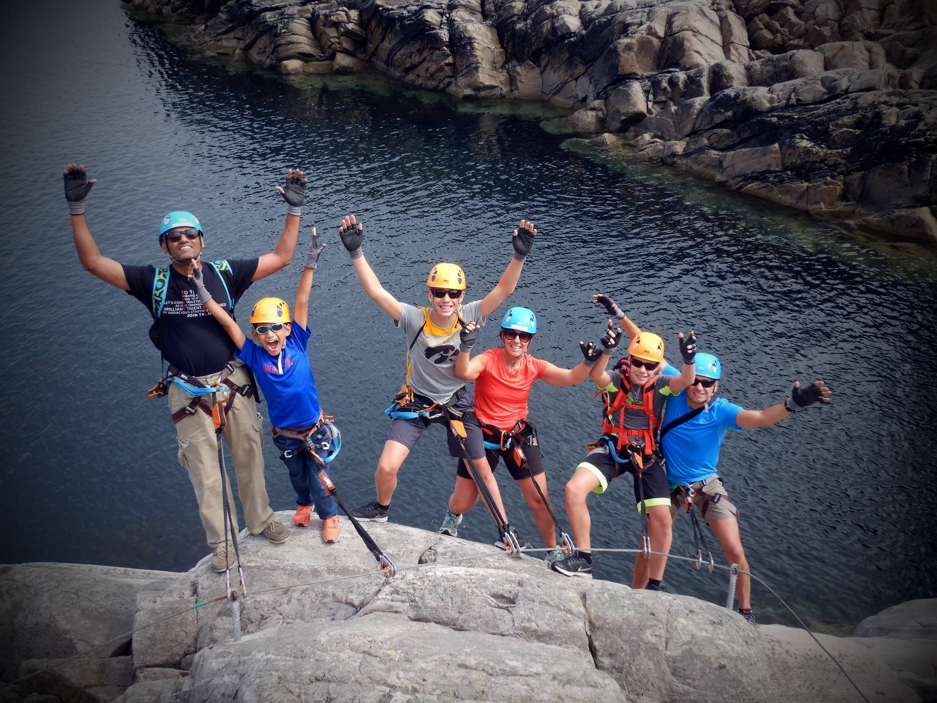 Road trip from Bergen to Herdla - guided via Ferrata
