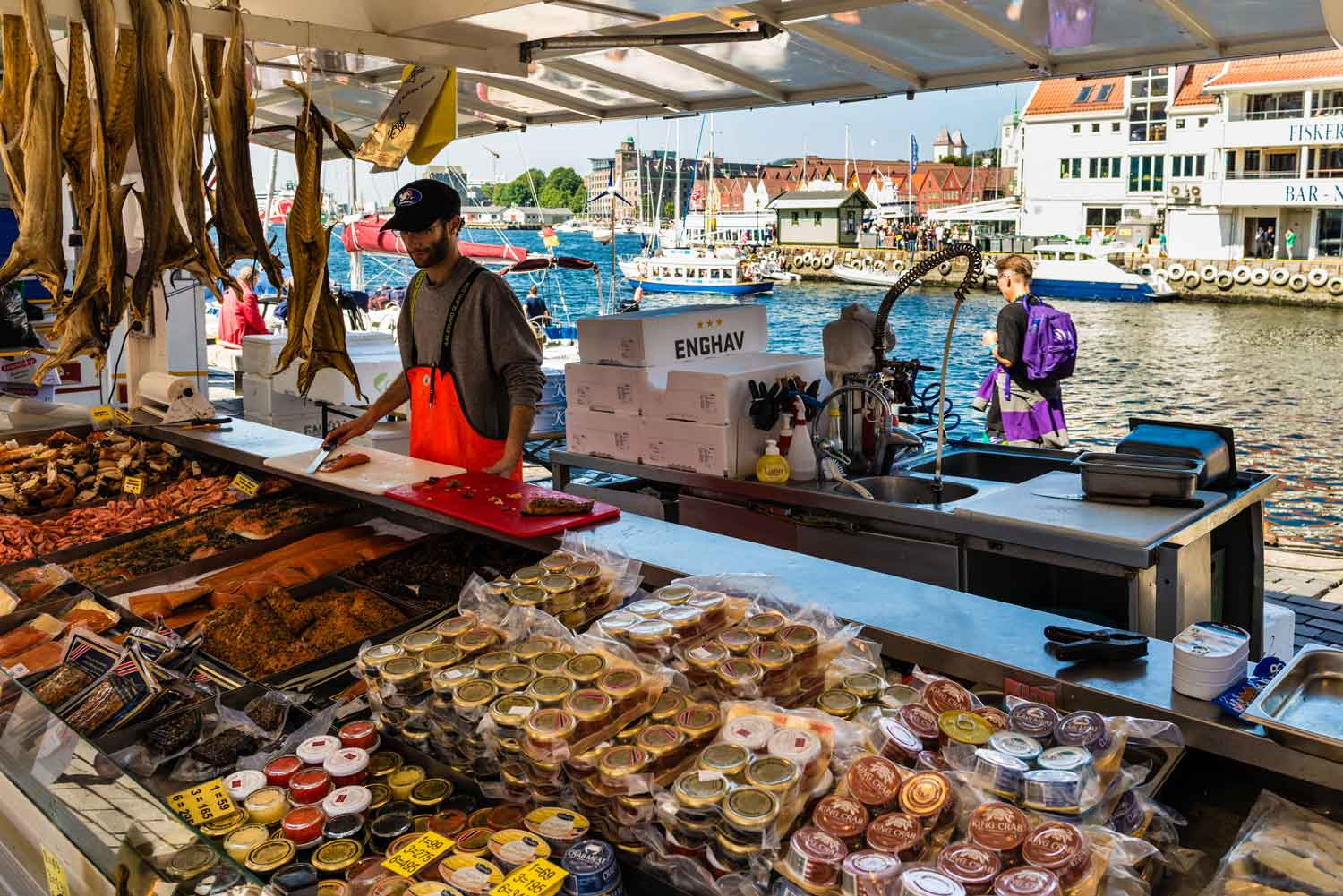 Fish Market in Bergen - free tings to do