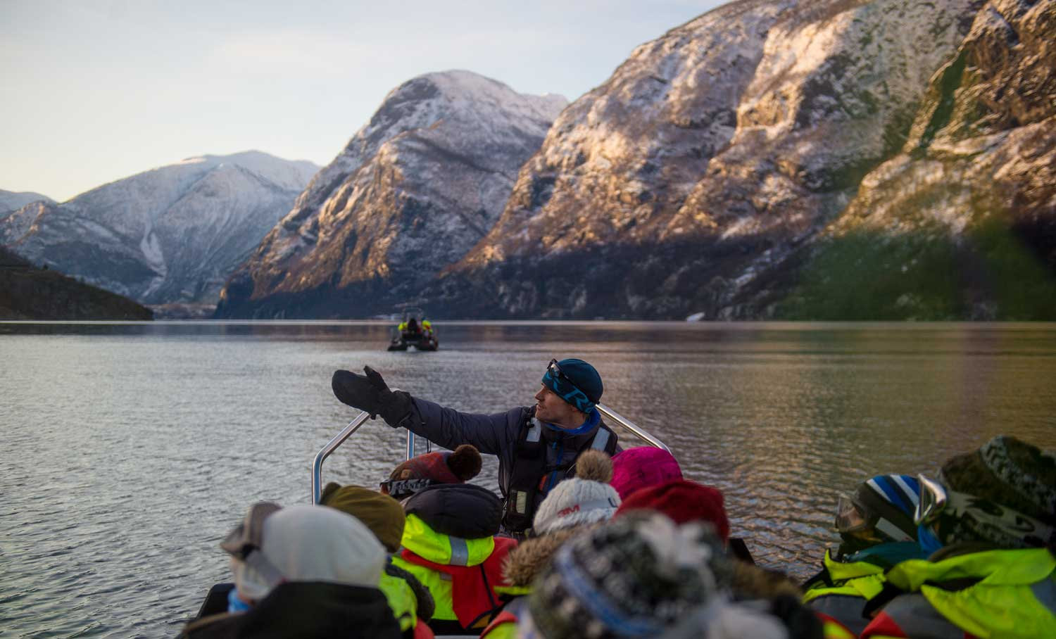 Best time to go on a fjord cruise - winter