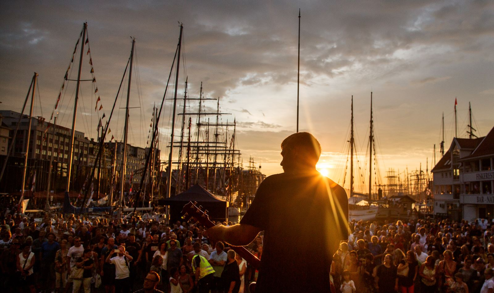 Free festival Tall Ships Races Bergen Norway