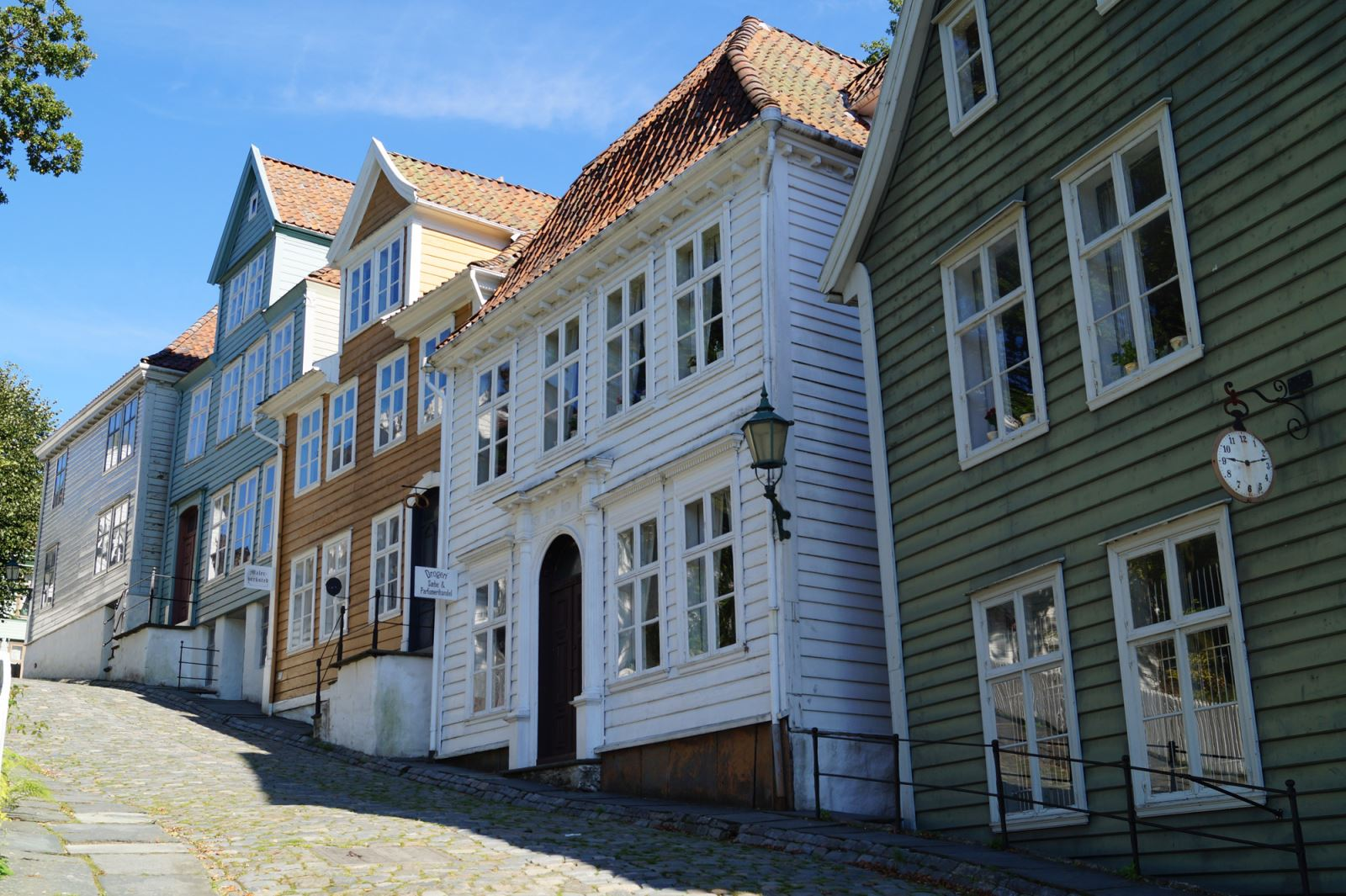 Old Bergen Museum Norway