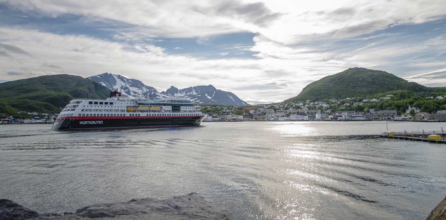 Hurtigruten - route south or north bound