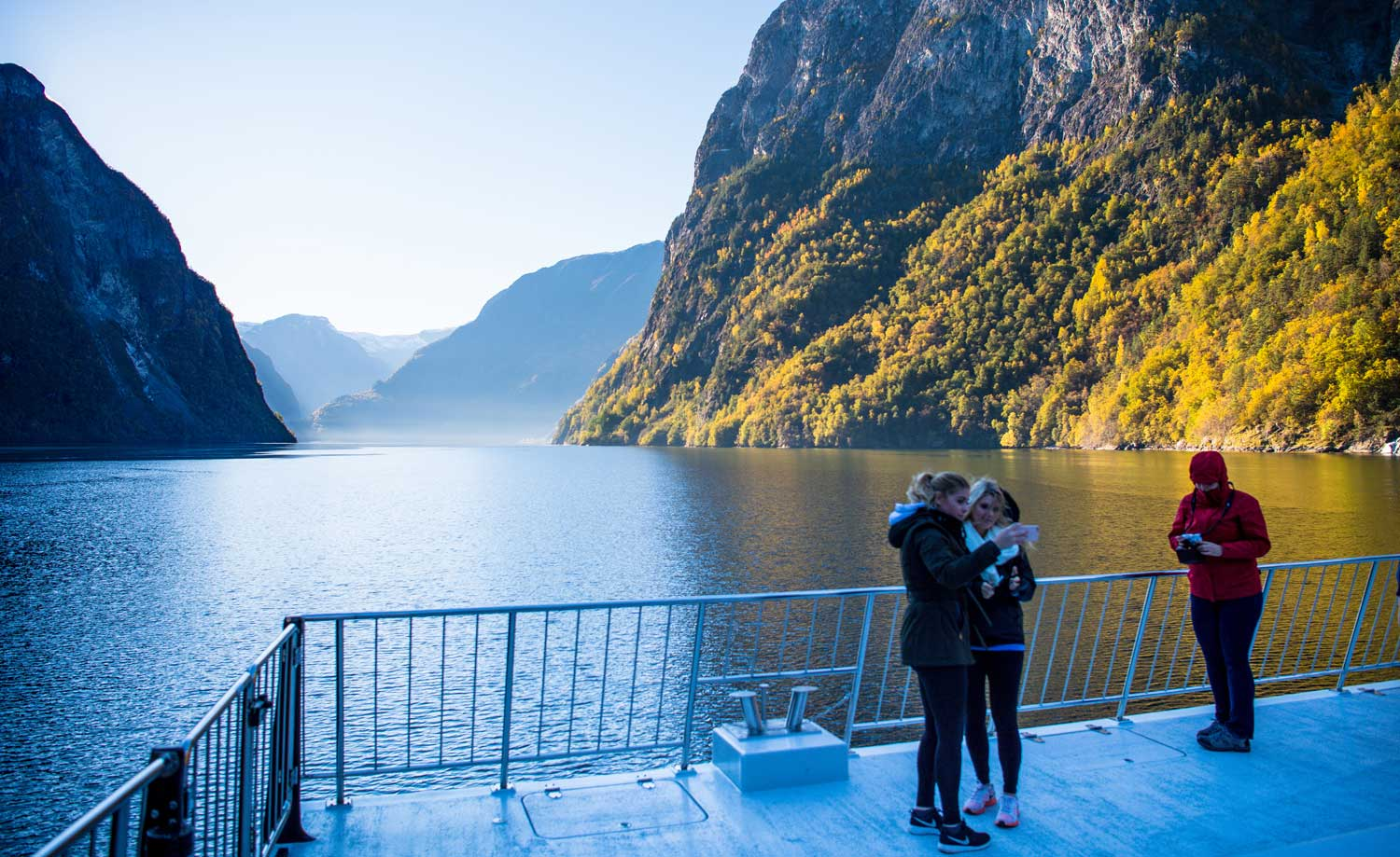 When is the best time to on a fjord cruise - autumn