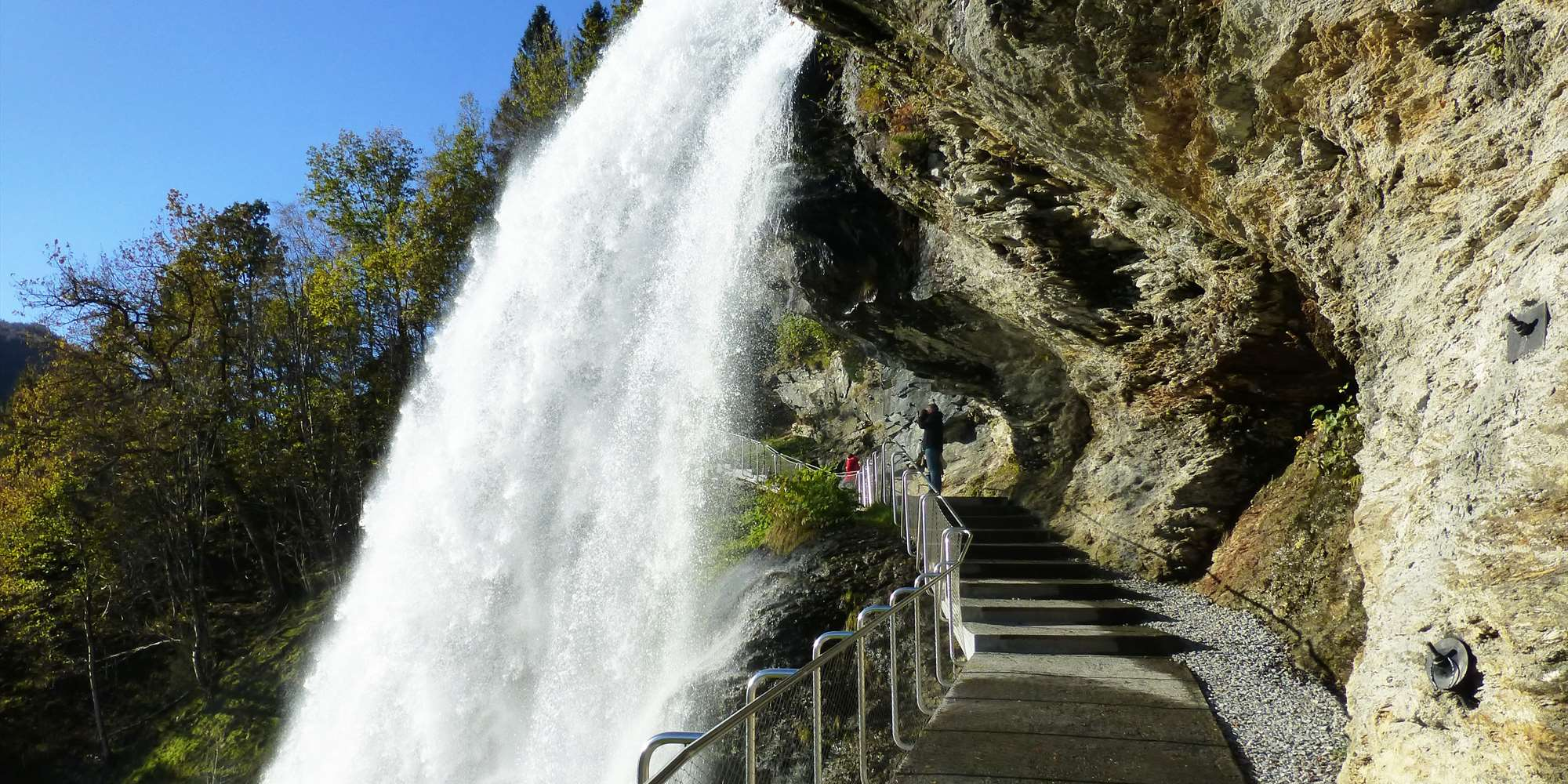 Steinsdalen waterfall