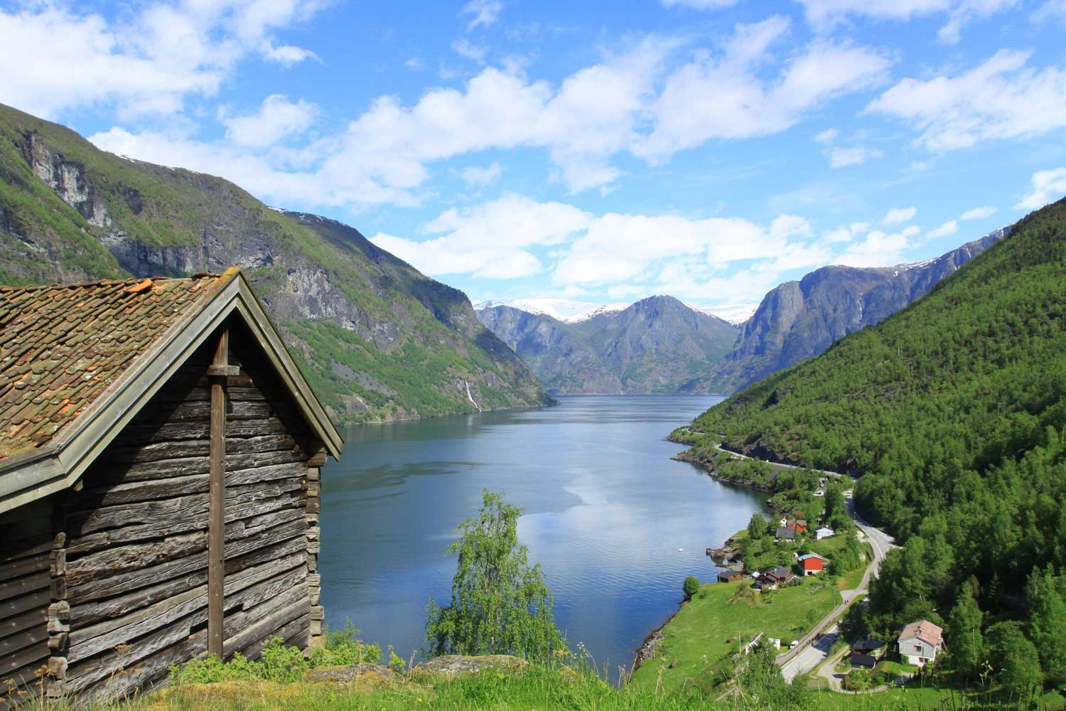 What is a fjord in Norway