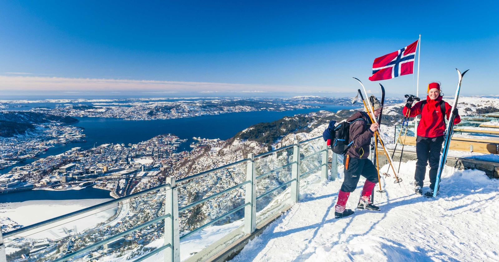 Winter in Bergen - Mount UIriken