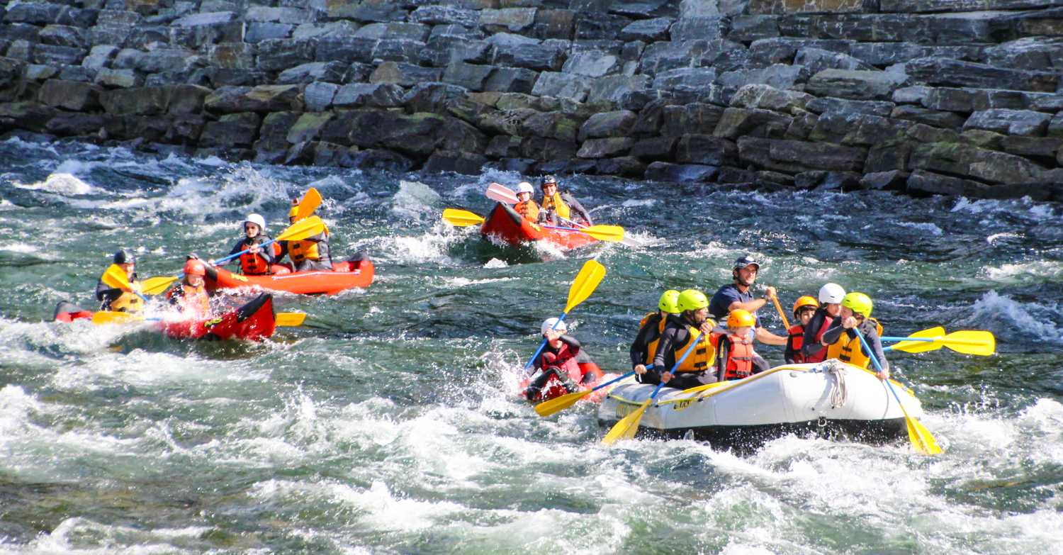 Things to do in Voss - rafting