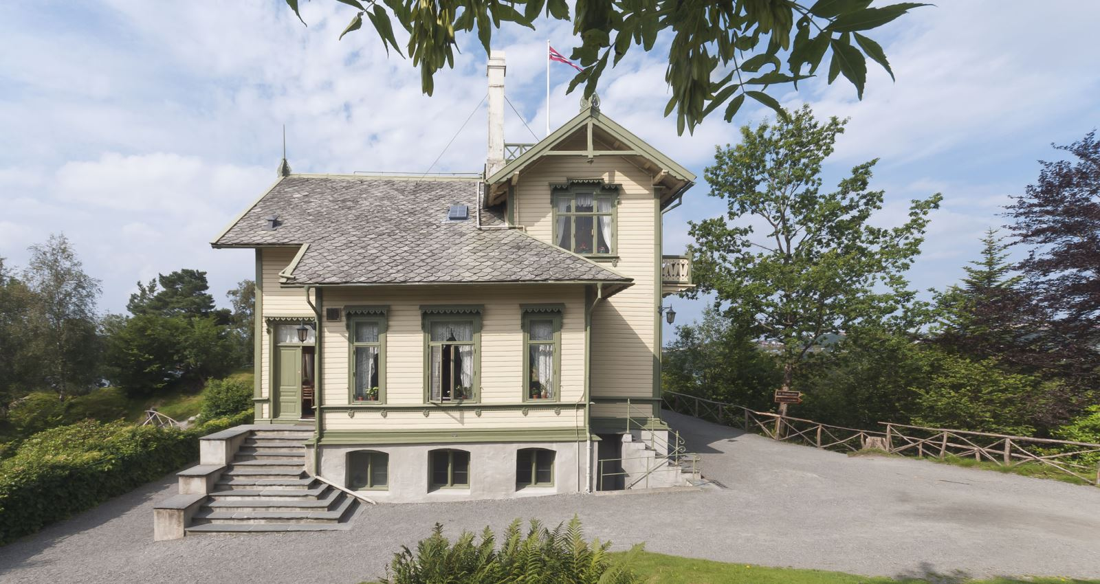Troldhaugen Home of Edvard Grieg Bergen Norway