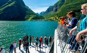 Thumbnail for Guided fjord cruise incl. Stegastein