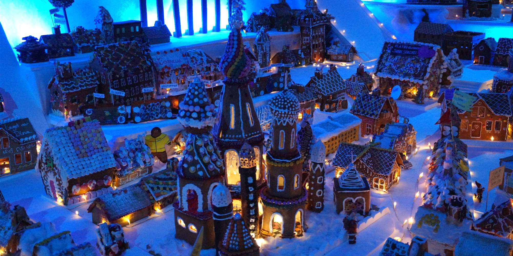 Image result for bergen gingerbread town 2018