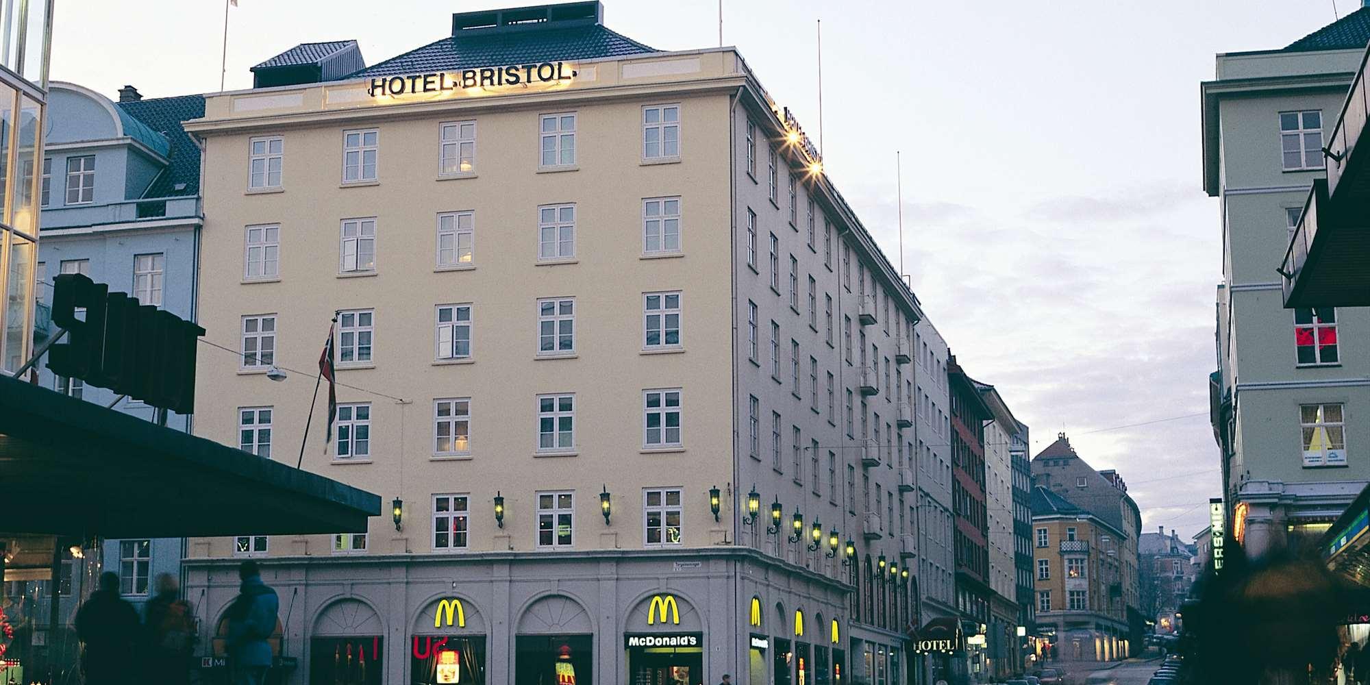 Thon Hotel Bristol Right In The Center Off Bergen