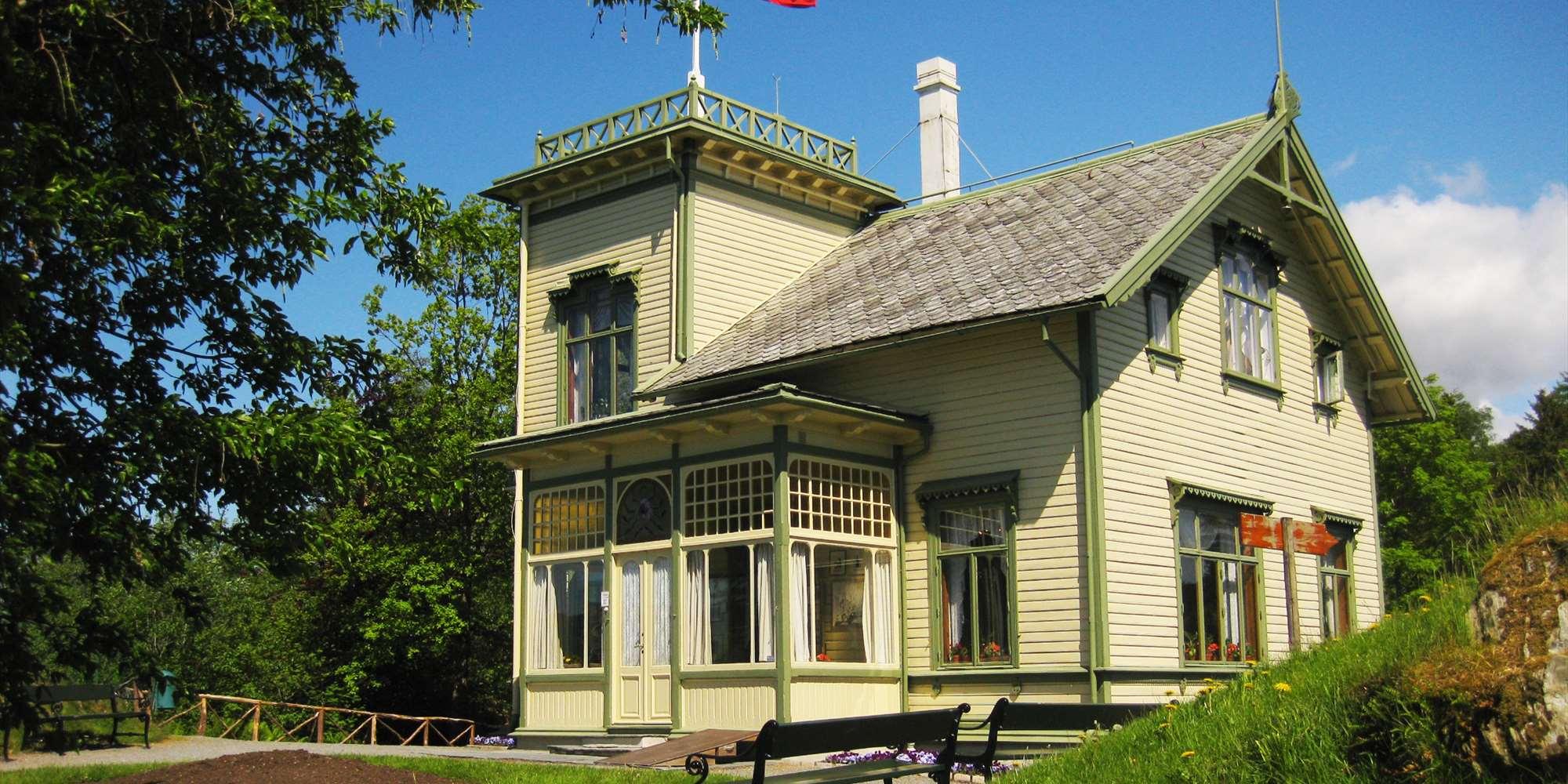 Surprising Troldhaugen Home Of Composer Edvard Grieg Visitbergen Com Cjindustries Chair Design For Home Cjindustriesco