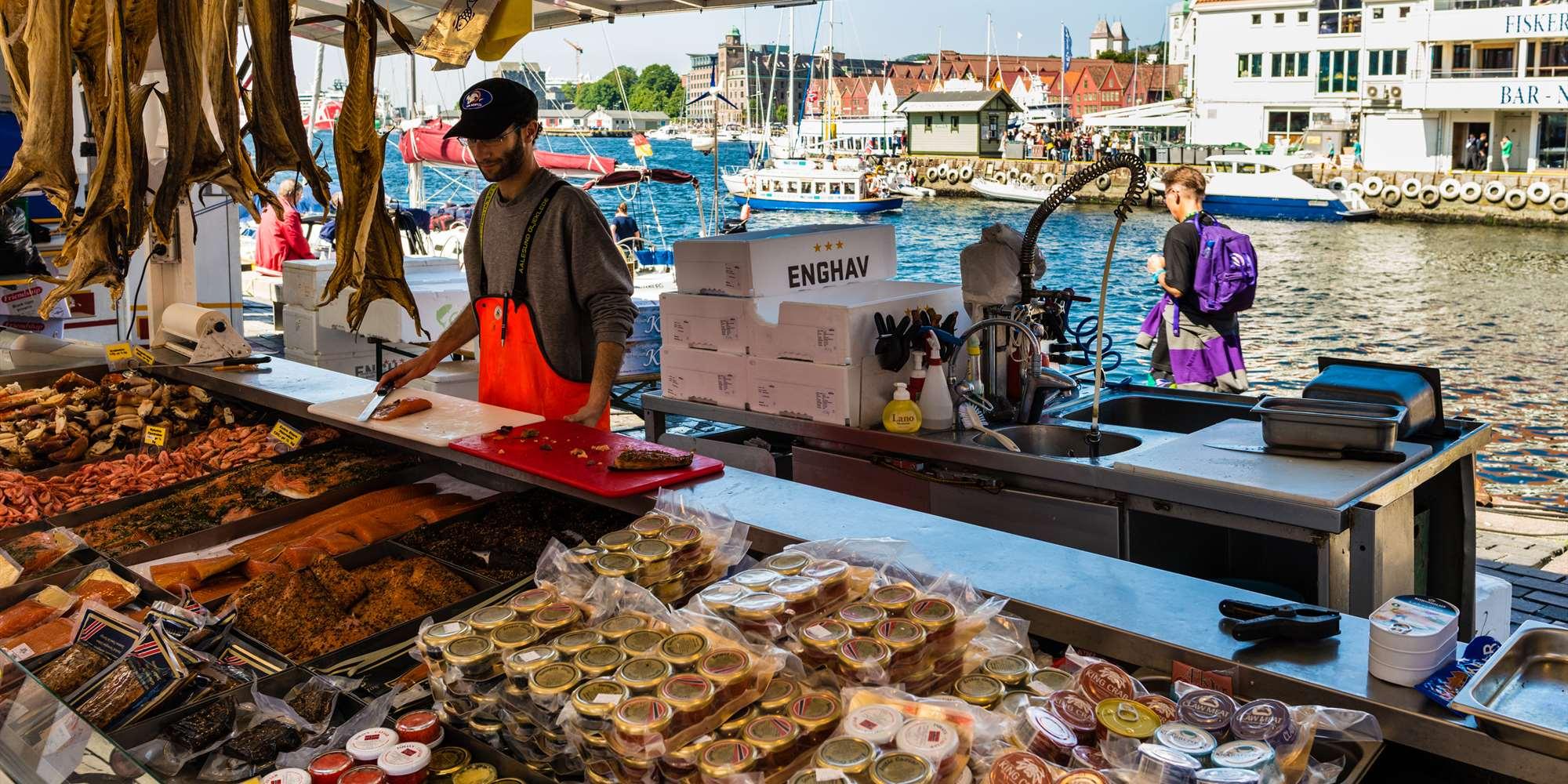 Fish Market in Bergen - visitBergen com