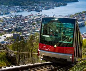 Thumbnail for Fløibanen Funicular