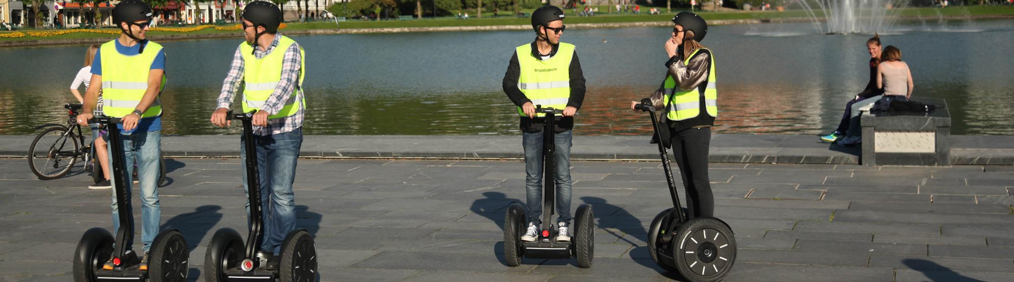See Bergen on a segway