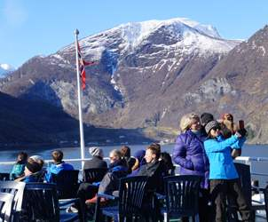 Thumbnail for Fjord tours and cruises from Bergen during winter