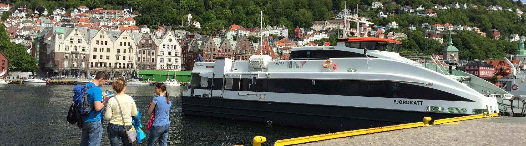 Bergen - easy to get to