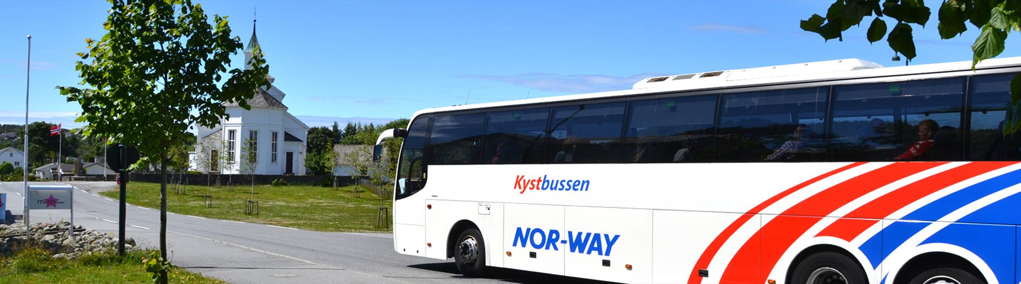 To Bergen by bus