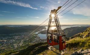 Thumbnail for Ulriken Cable car