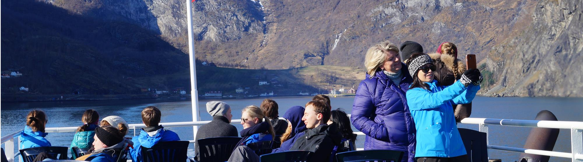 Fjord tours in winter
