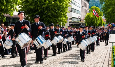 17th May celebrations in Bergen