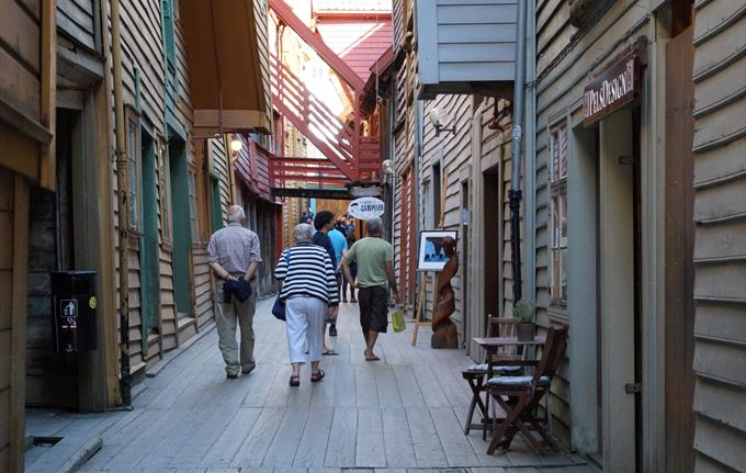 Theta Museum on Bryggen - the resistance movement