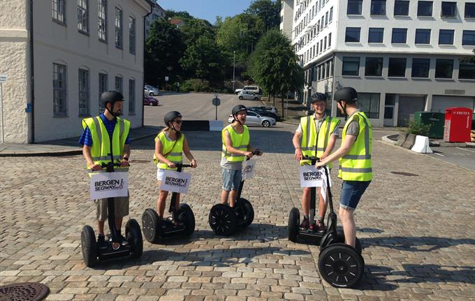 Bergen Segway - experience tour 1 hour