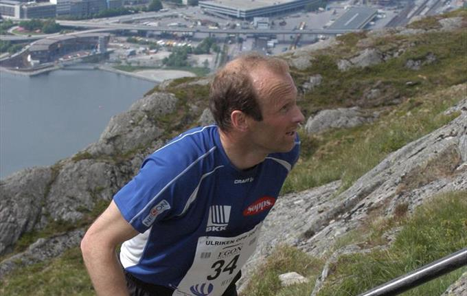Ulriken Opp - uphill mountain race
