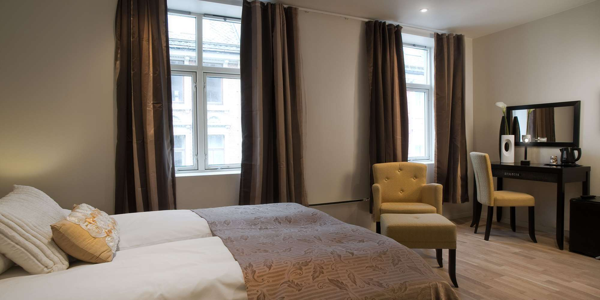 Basic Hotel Bergen - Double room Large
