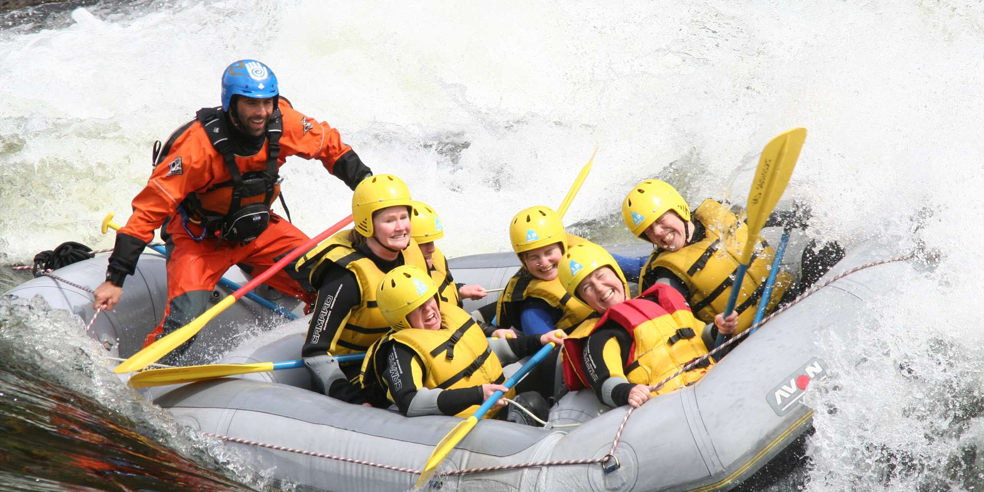 Rafting at Voss