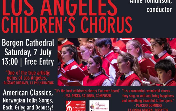 Concert with Los Angeles Children's Choir