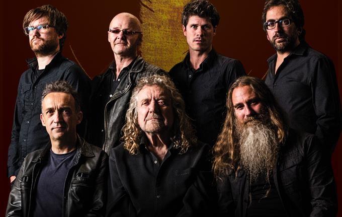 Concert with Robert Plant and the Sensational Space Shifters
