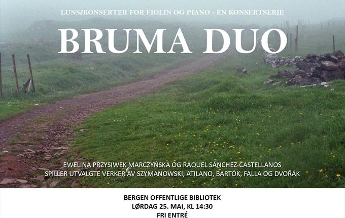Lunchtime concert with Bruma Duo